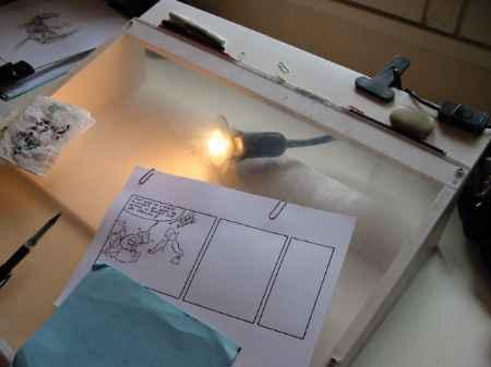 Construire sa table lumineuse pour la r alisation de - Table a dessin lumineuse ...