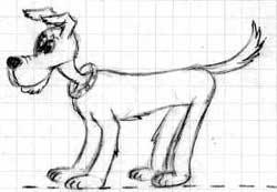 Dessin Humoristique Chien dessines moi : les chiens quadrupedes